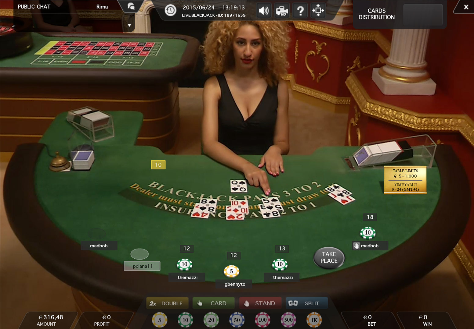 Medialive casino play roulette in a casino