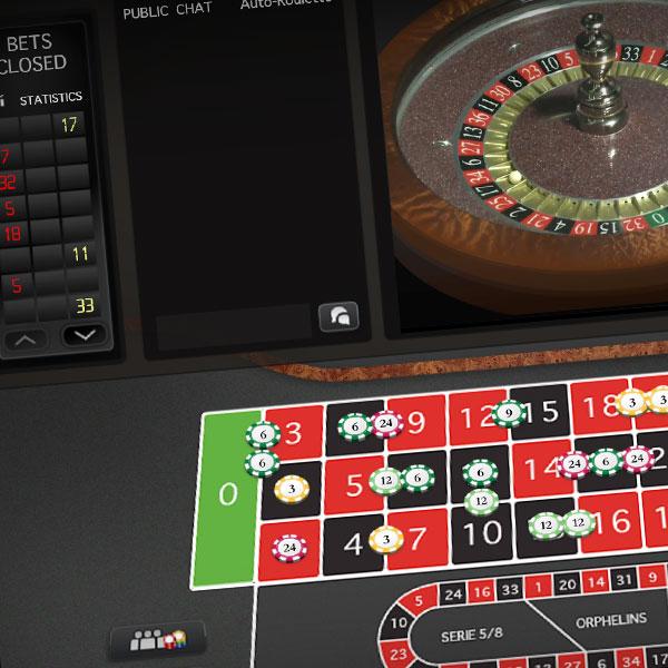 Roulette online croupier dal vivo